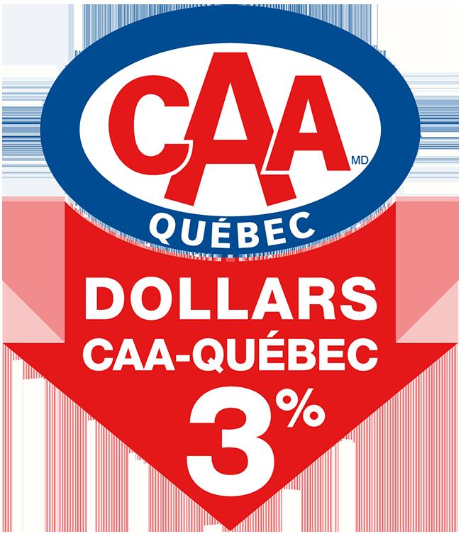 Promotion CAA Québec 3%