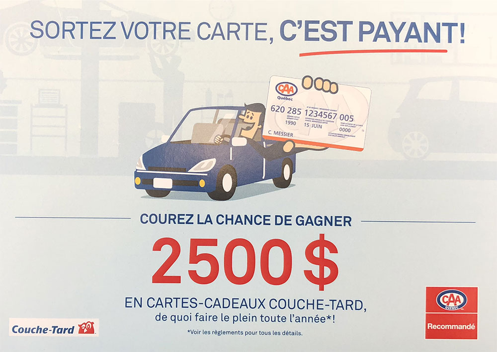 Promotion couche-tard